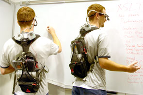 firewire eyetracking backpack